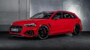 Audi RS4 универсал мощностью 535 лошадей
