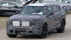 BMW X8 опубликованы новые снимки