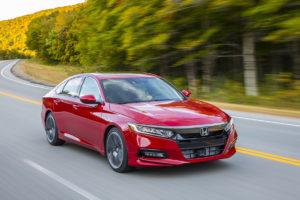 Обновлённый Honda Accord дебютировал в Америке
