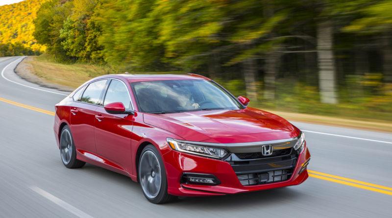 Обновлённый Honda Accord