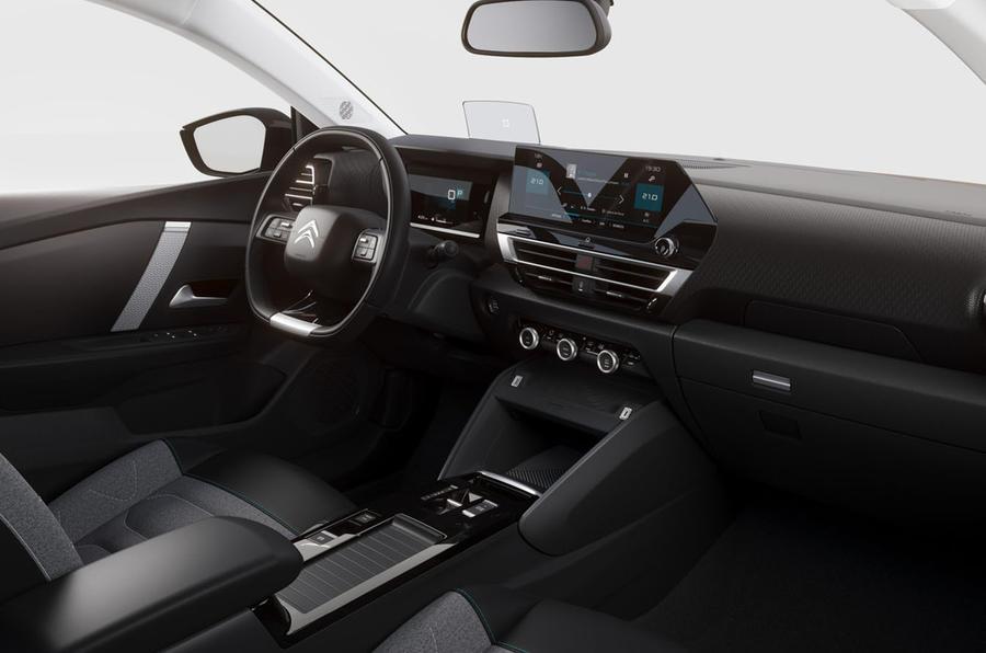 Новый Citroen C4  салон