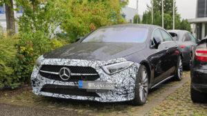 Новый Mercedes-AMG CLS53 заметили во время тестов