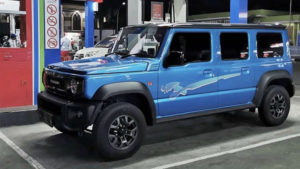 Пятидверный Suzuki Jimny начнут продавать в 2021 году