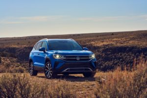 Volkswagen Taos официальная презентация кроссовера