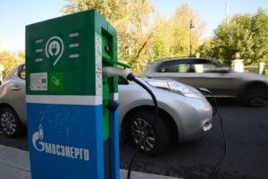 В России установят 1 тыс. зарядных станций
