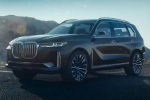 BMW X7 на подходе рестайлинг кроссовера