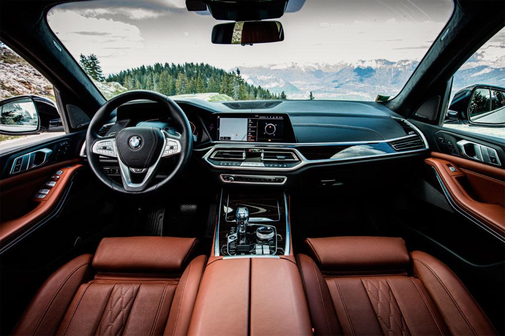 BMW X7 салон