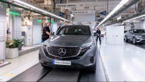 Daimler станет меньше из за электромобией