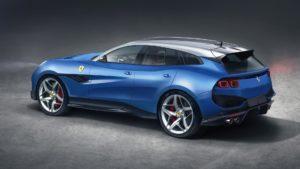 Ferrari Purosangue первый кроссовер от Ferrari рассекретили
