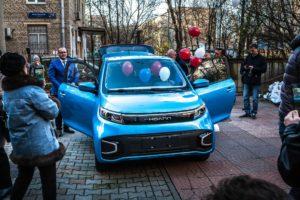 Hoann EK01 новый китайский электромобиль для России