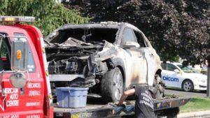 Hyundai Kona отозваны автомобили из-за пожара