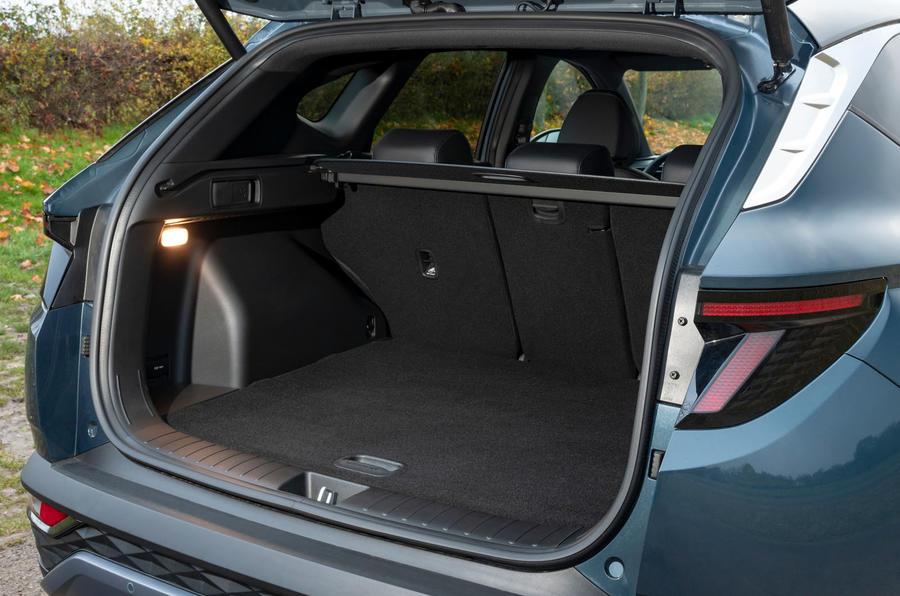 Hyundai Tucson 2020 багажник