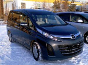 Mazda Biante экономичный семейный минивэн из Японии