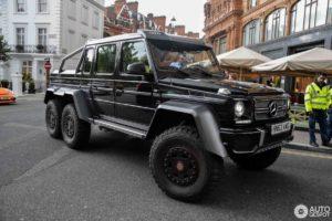 Шестиколёсный Гелендваген продают за 44,7 миллиона рублей