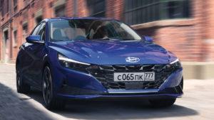 Новая Hyundai Elantra для России