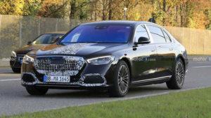 Новый Mercedes-Maybach S-Class замечен почти без камуфляжа
