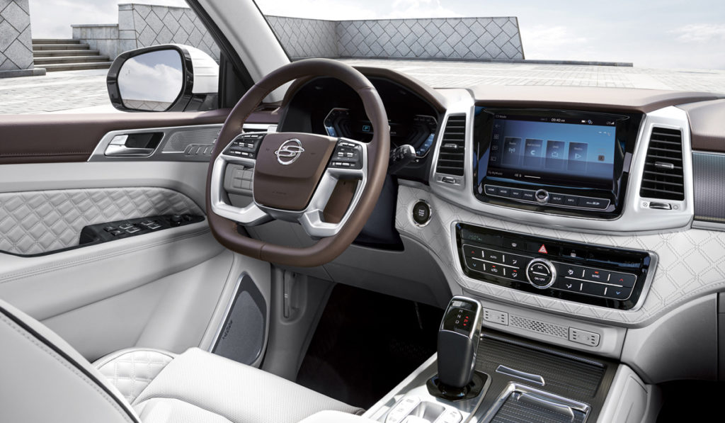 SsangYong Rexton 2021 салон