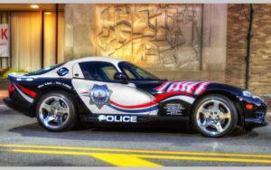Самые интересные полицейские машины на службе правопорядка