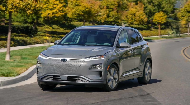 Электромобиль от Hyundai и Kia