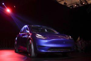 Тесла начала выпуск Model Y на Гигафабрике в Китае