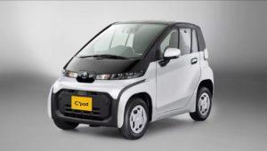 Toyota C-Plus Pod маленький электромобиль для больших задач