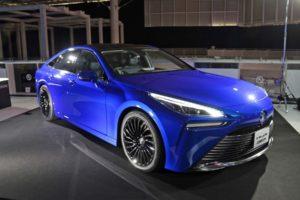 Toyota Mirai с коммерческими технологиями будущего