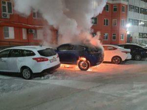 Возгорания Haval F7 начали происходить на морозе