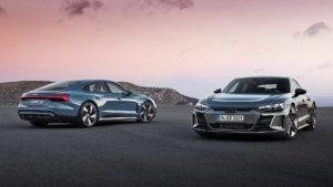 Audi e-tron GT quattro начало продаж уже весной