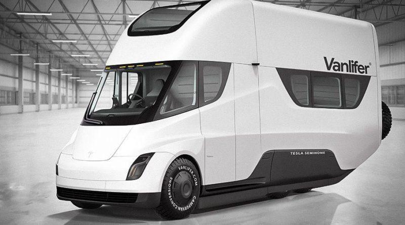 Фургон Tesla