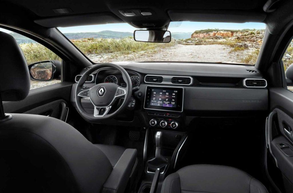 Новый Renault Duster салон