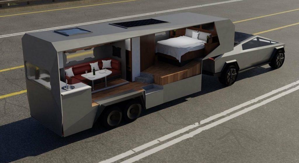 Tesla Cybertruck Custom RV