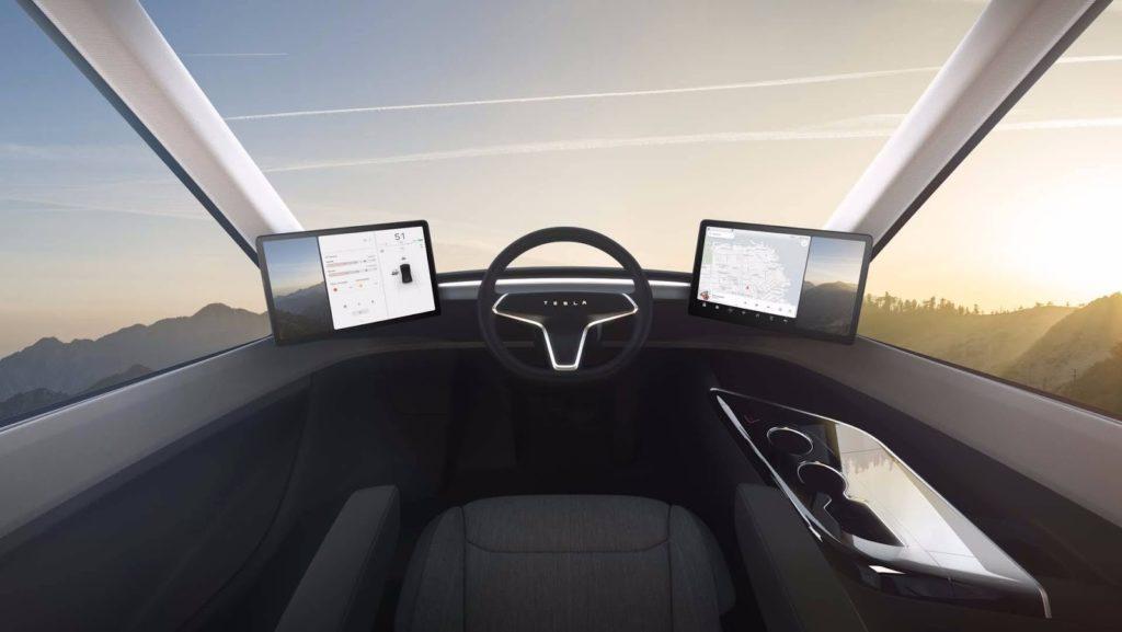 Tesla Semi салон