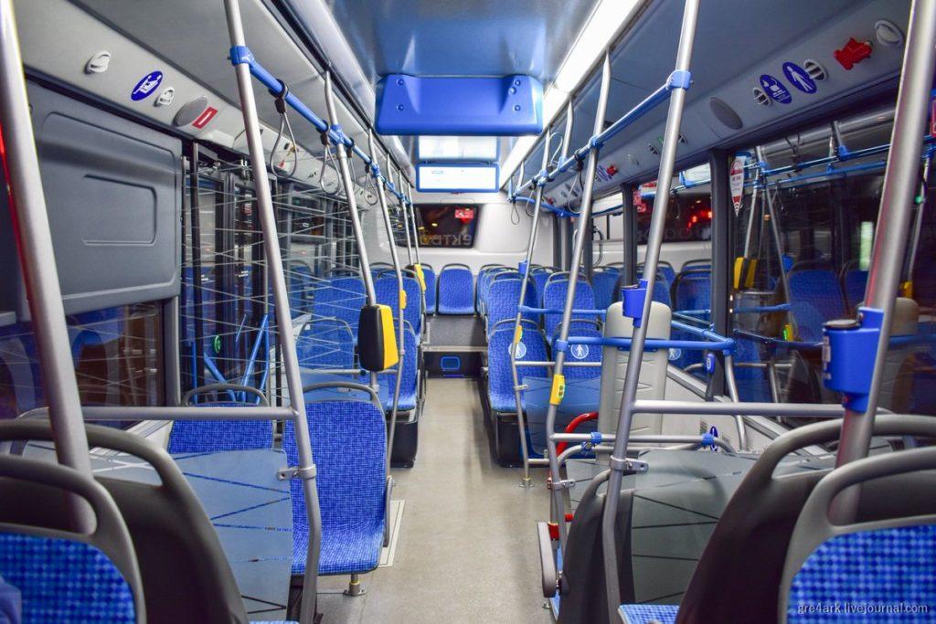Электрический автобус КАМАЗ