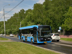 Электрический автобус КАМАЗ нового поколения