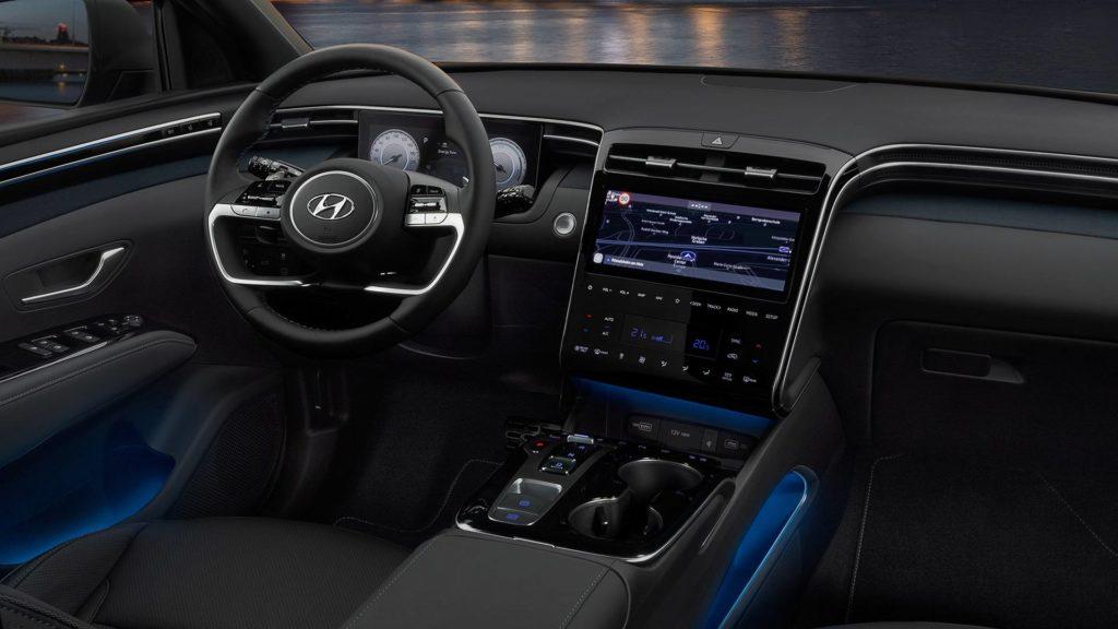 Hyundai Tucson 2021 салон