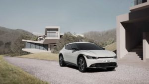 Kia EV6 электромобиль будущего представят в конце марта