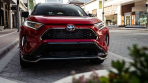 Toyota RAV4 Prime 2021 гибридный бестселлер от Toyota