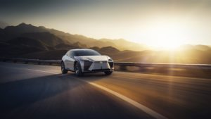 Электромобиль Lexus LF-Z Electrified мировая премьера
