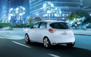 Электромобили Renault показывают лучшие продажи