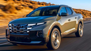 Hyundai Santa Cruz 2022 пикап для американского рынка