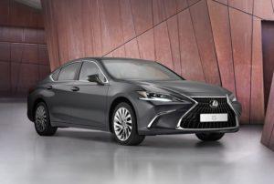 Lexus ES 2021 мировая премьера бизнес-седана