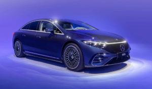 Mercedes-Benz EQS показали первый электрический седан концерна.
