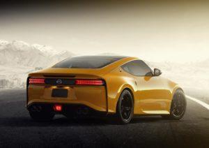 Nissan Z опубликовали новое фото интерьера спорткара