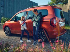 Renault Kangoo 2021 пассажирский вариант представлен для Европы