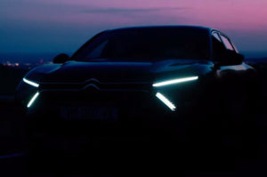 Citroën флагманский седан-внедорожник появится в понедельник