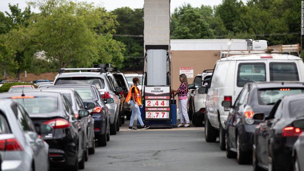Дефицит бензина в США