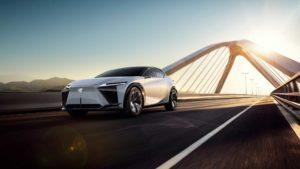 Электромобили Lexus появятся уже в следующем году