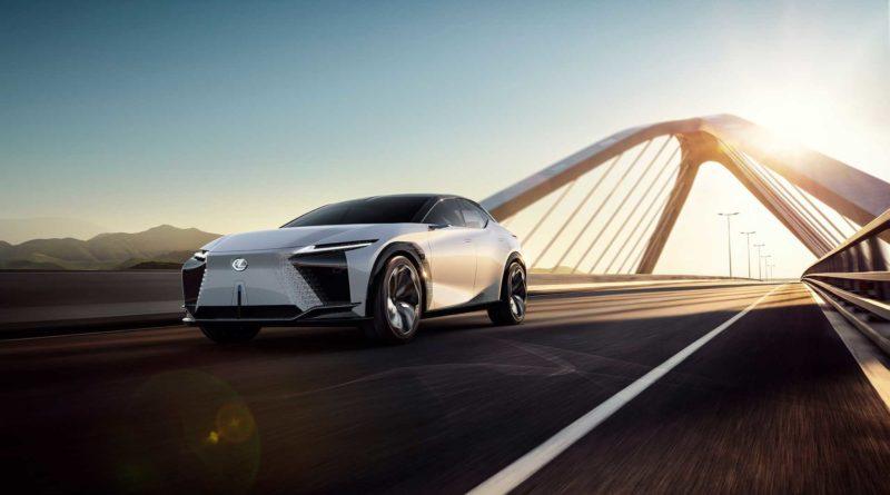 Электромобили Lexus