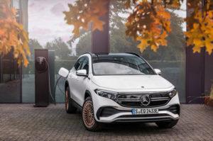 Mercedes-Benz EQA получит 4WD и мощность до 288 л. с.