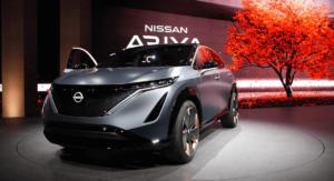 Nissan Ariya продемонстрировал работу системы e-4ORCE
